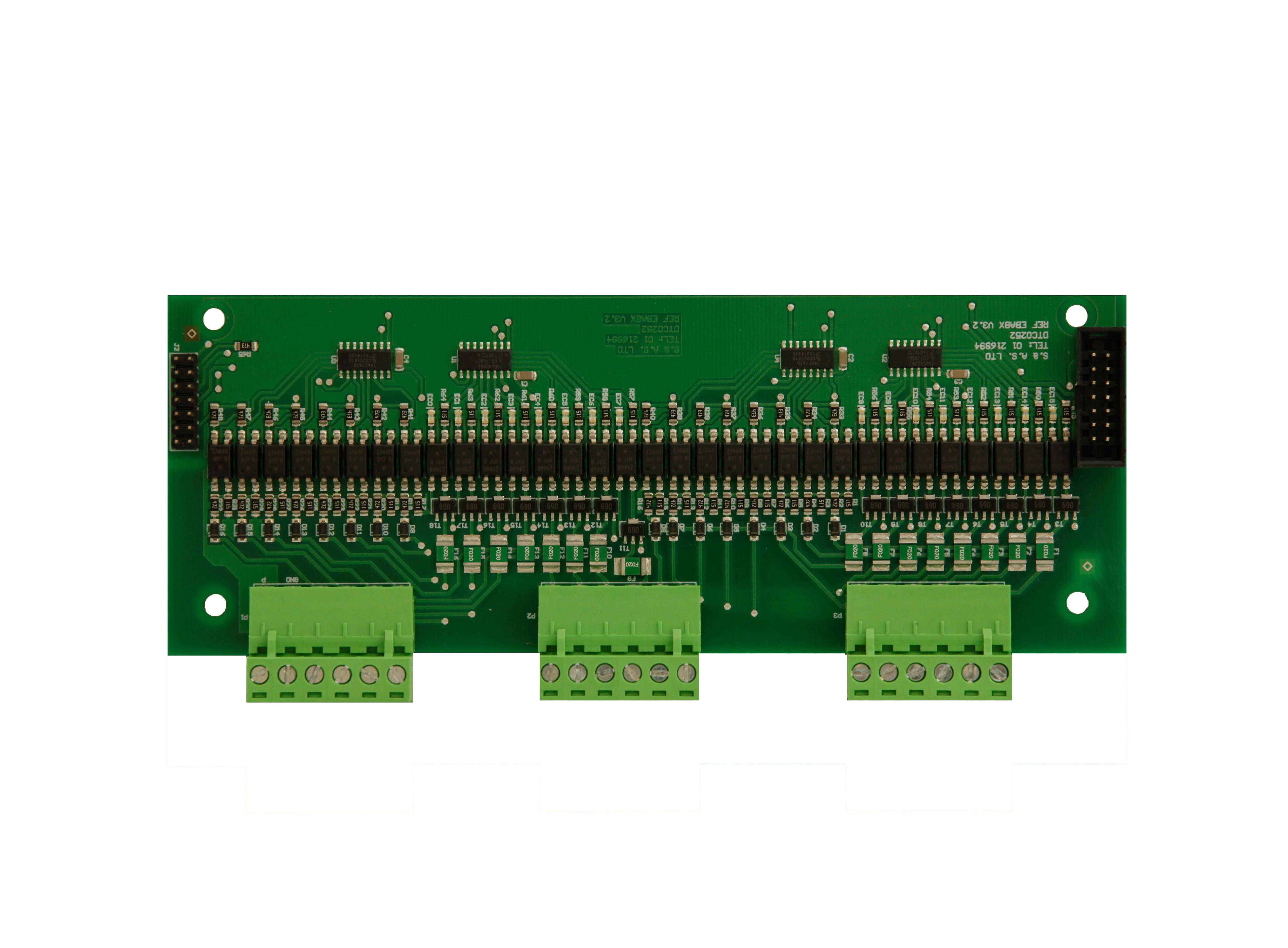 MICROZED  EXTENSION BOARD − MICROZEDX
