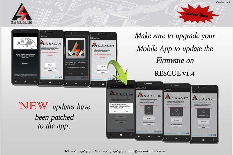 SAS_PTool Mobile App Upgrade