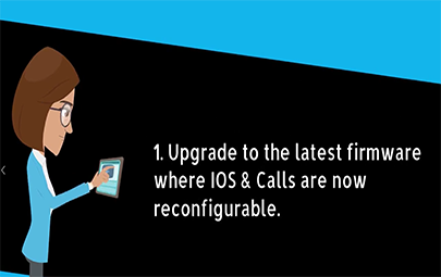 IOs And Calls Re-configuration