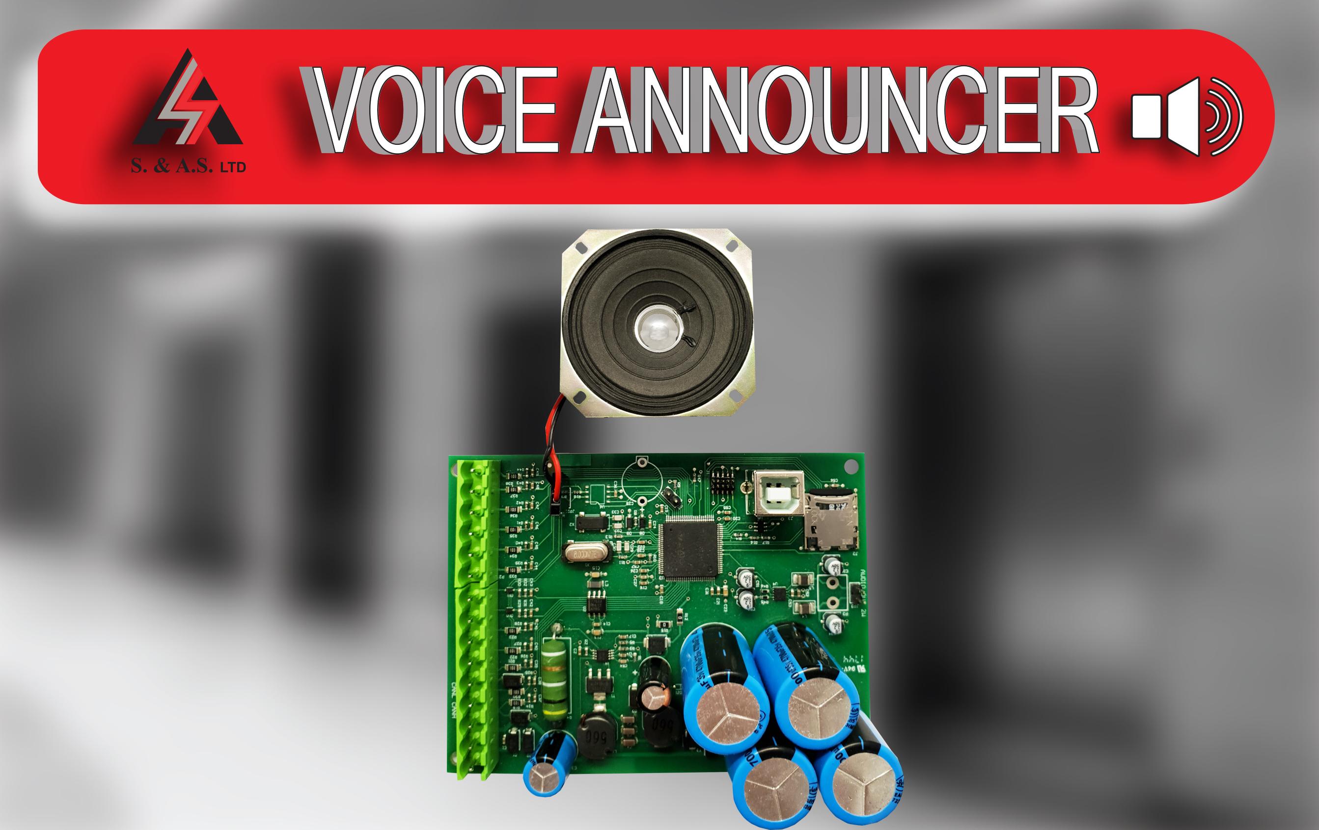 VOICE ANNOUNCER