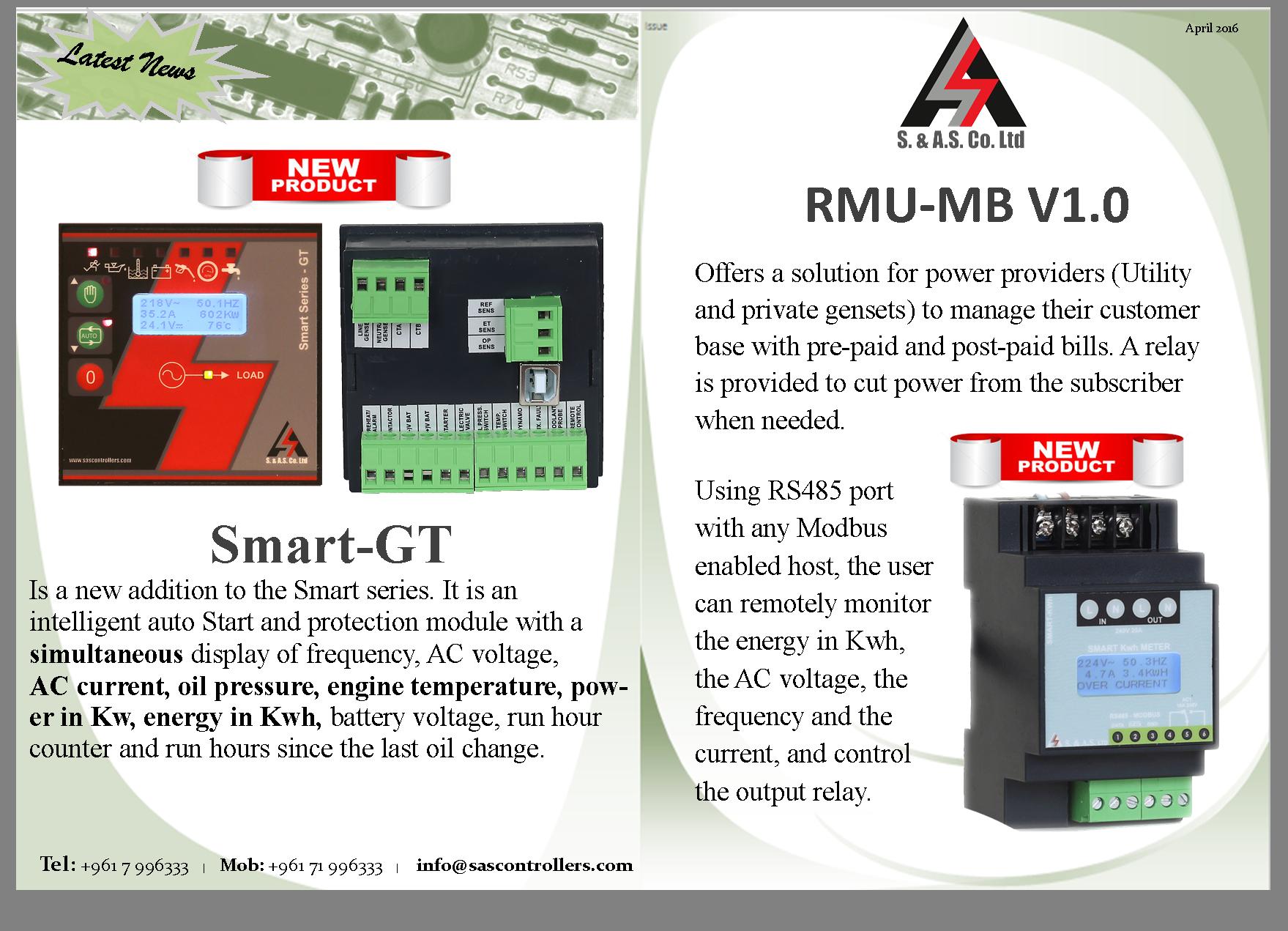 Smart-GT / RMU-MB v1.0